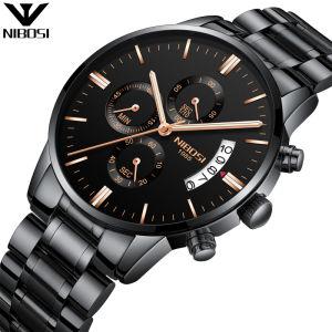 Commerce de gros/Custom chronographe classique Mouvement Quartz montre-bracelet pour hommes