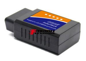 自動OBD-IIの欠陥コード読取装置及び車の診断走査のツール、標準タイプ、Bluetooth 2.0、黒、状況標識と、接着チップ