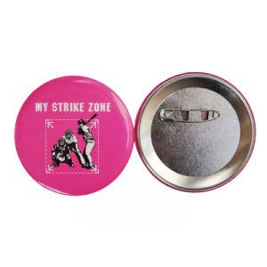 方法かわいい金属のクラフトの昇進のギフトボタンのバッジ(023)