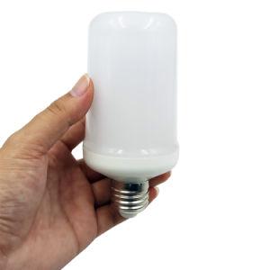 2018 Novo E26/E27 chama o LED da lâmpada da luz da lâmpada de Incêndio com 3 modos