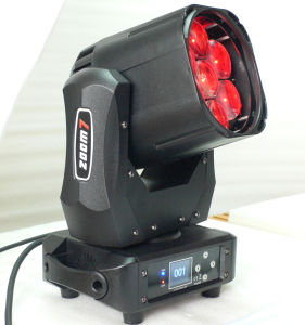 Zoomの段階Equipment 7X40W Wash LED Moving Head