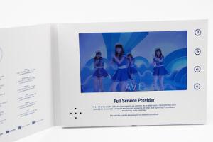 Tamanho A5 LCD de 7 Polegadas Placa de Vídeo Empresarial