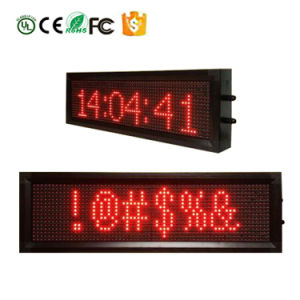 RS232 o lan RJ45 o visualizzazione delle informazioni di Ethernet senza fili di colore LED di WiFi P7.62-16X64 per il supermercato dell'ospedale dell'ufficio del bus della memoria