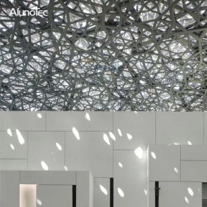 Usine direct de l'aluminium métallique des panneaux de plafond pour plafonds