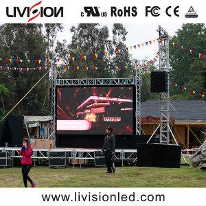 高品質のコンサートのための移動可能な屋外のレンタルフルカラーのLED表示スクリーンP3.9/4.8 LEDのパネル・ディスプレイ