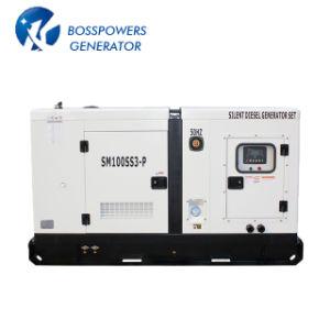 Lovol Dieselの発電機セットのディーゼルGensetの交流発電機によって動力を与えられる50Hz 130kw 163kVAのWater-Coolingの無声防音のおおい