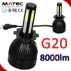 ヘッドライトキット80W H4 9003 Hb2こんにちは/Loのビーム6000K 8000lm球根LED車のヘッドライト