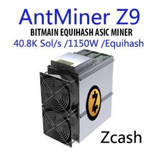Procedura di riserva del minatore di Antminer Z9 40.8K Sol/S 1150W Asic nell'estrazione mineraria di Equihash in Zcash/zen/Zcl/Eth-- Gruppo di alimentazione di Inclued e Shiping libero veloce