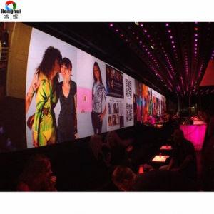 Montage mural intérieur pleine couleur HD P4 P5 LED écran TV