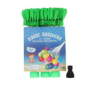 De Ballons van het Water van de zomer van Uitrusting van de Ballons van de Nieuwe vulling de Super Snelle en Gemakkelijke Vullende 1bag 111 reeds Gebonden Ballons voor Jonge geitjes