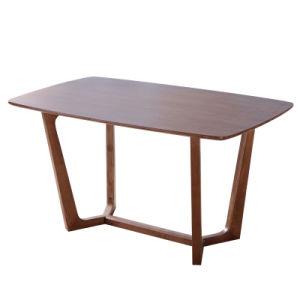 Casa moderna de madera muebles mesa de comedor juego de muebles para Restaurante