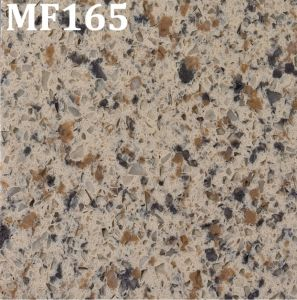 Aangepaste Countertop van de Keuken van de Decoratie van de Plak van het Kwarts van de Steen van het Graniet