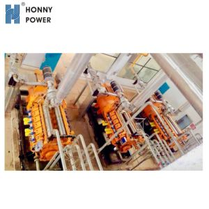 Honny 800kw de potencia de la estación de energía de Gas Natural