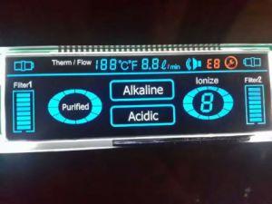 LCD het Scherm met LCD van de Schakelaar van de Speld Comité