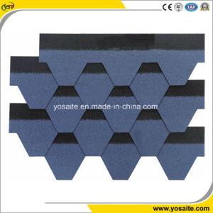 Lebenszeit-Dächer, die Mosaik-Art-Fiberglas verstärkten Asphalt-Schindel imprägniern