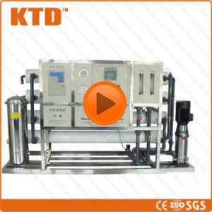 세륨 ISO 250L/Hour RO 바닷물 처리 정화 기계 식용수 정화 플랜트 RO 급수정화 기계