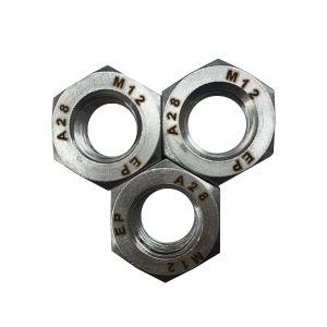 DIN934 28 1.4563 N08028 en alliage de l'écrou hexagonal