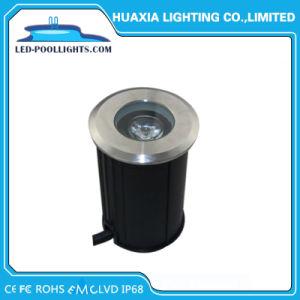 Квадратный или круглой формы с торцевым кольцевым водонепроницаемая IP68 для использования вне помещений Inground светодиодный индикатор в саду