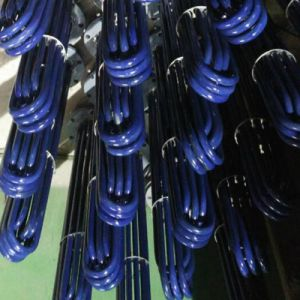 エナメル塗料が付いている防蝕電気水発熱体