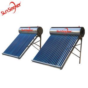 200L het compacte Systeem van de Verwarmer van het Hete Water van de niet-Druk Zonne