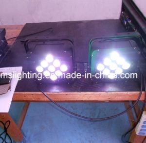 LED는 PAR/Stage 가벼운 7*10W RGBW 4in1 다색 LED 벽 세탁기 빛을 땋는다
