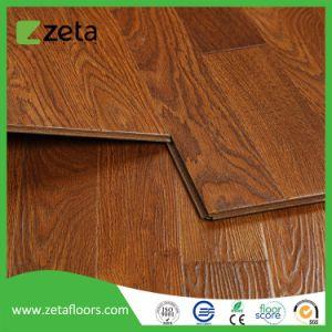 Nuevo estilo de madera resistente al agua Los suelos estratificados relieve Registered-Embossed mosaico AC3