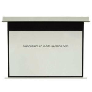 de Projectie Screenec84vf van Threther van het Huis van de Techniek van het Scherm van het in-plafond