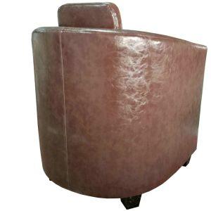 現代ホテルの家具PUの革ロビーの椅子(620)