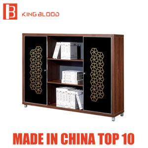 Armário de arquivos de madeira de alta qualidade Boss Office Estantes móveis de escritório