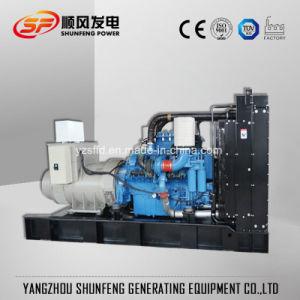 Bajo ruido de 663kVA de energía eléctrica de la MTU de grupo electrógeno diesel