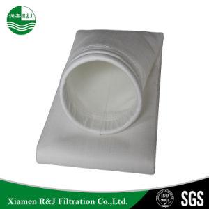 Perforado de aguja Nonwoven funda 100% de las bolsas de polipropileno PP Collector estimó la bolsa de filtro Industrial