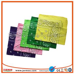 安い昇進の在庫によって印刷されるペーズリーパターンバンダナ