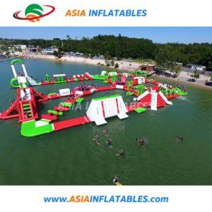 Inflable gigante Parque Acuático parque de atracciones de agua