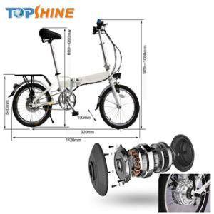 El poder ayudar a bicicleta eléctrica plegable con 36V 250W sin escobillas motorreductor