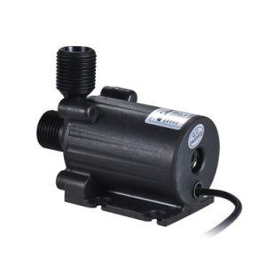 12V Micro- van gelijkstroom de Automatische Brushless Circulatiepomp Met duikvermogen Met lange levensuur van het Water voor Fontein diep goed 800L/H