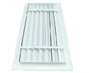 Bonne qualité du système de CVC décoratifs en aluminium à barres linéaires de l'air d'alimentation en air Grilles Diffuseurs d'air