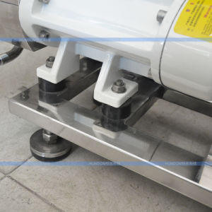 ステンレス鋼の双生児ねじポンプ、瀝青のための二重螺線形ポンプ
