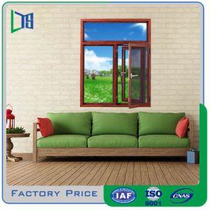 Fuerte querida las últimas ventanas de aluminio Cristal Casement Window Design