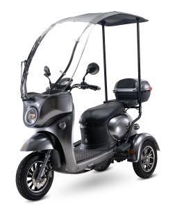 Triciclo eléctrico de tres ruedas para ancianos