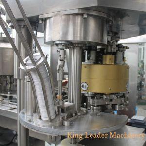 Pop automático puede jugo de frutas Bebidas Máquina Tapadora de llenado en caliente
