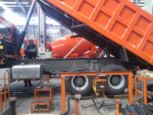 De Vrachtwagen van de Stortplaats van Sinotruk HOWO/Kipwagen/Lichte Vrachtwagen voor Verkoop in Doubai
