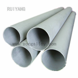 Astma312 TP321/Uns32100/1.4541/X6crti18-10 Seamless redondo de acero inoxidable tubos huecos