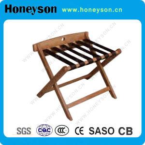 Honeyson 호텔 사용을%s 나무로 되는 안정되어 있는 수화물 선반