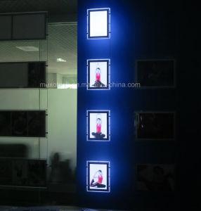 Vetrina leggera acrilica leggera a LED laterale della finestra (CDH03-A4P-16)