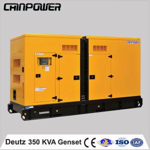 350kVA stille Reserve Diesel van de Macht Generator met Motor Deutz