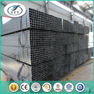 Ms de Negro cuerpo hueco del tubo de acero Uasge la estructura del edificio