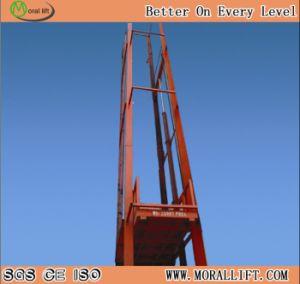 La estructura vertical de doble zona de Material de construcción de bienes elevador (SJD)