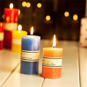 China 6 Zoll-Dekoration-Kerze-Pfosten-Kerze