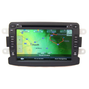 Double DIN Car DVD GPS para o RENAULT Duster Logan Sandero