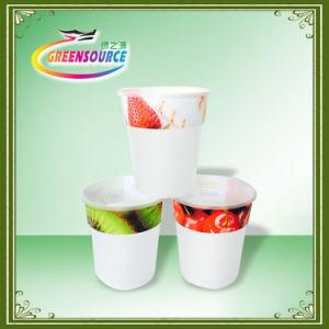 Красивые наклейки для пластмассовых чашек/Iml в ярлык пресс-форм